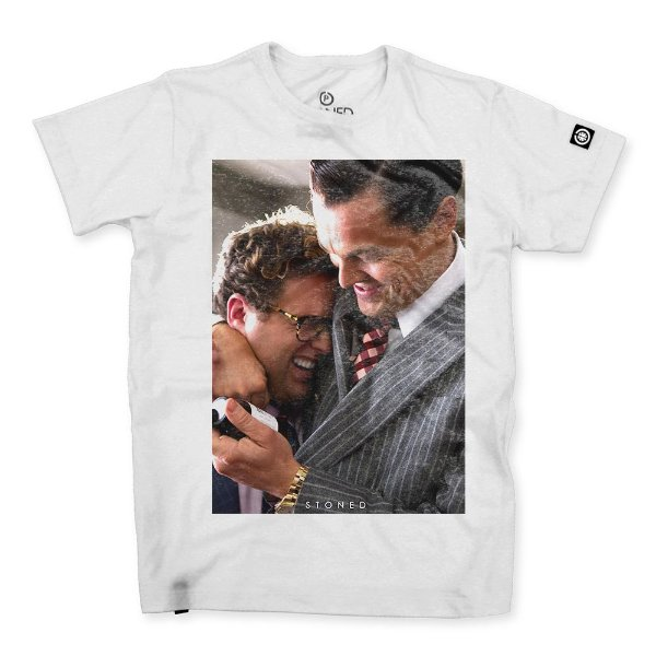 Camiseta Masculina The Wall Street Wolf