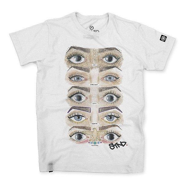 Camiseta Masculina Stoned Eyes