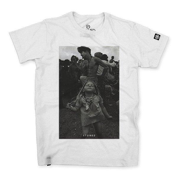 Camiseta Masculina Woodstock