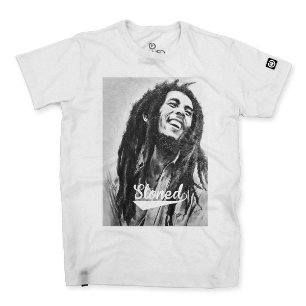Camiseta Masculina Bob Marley