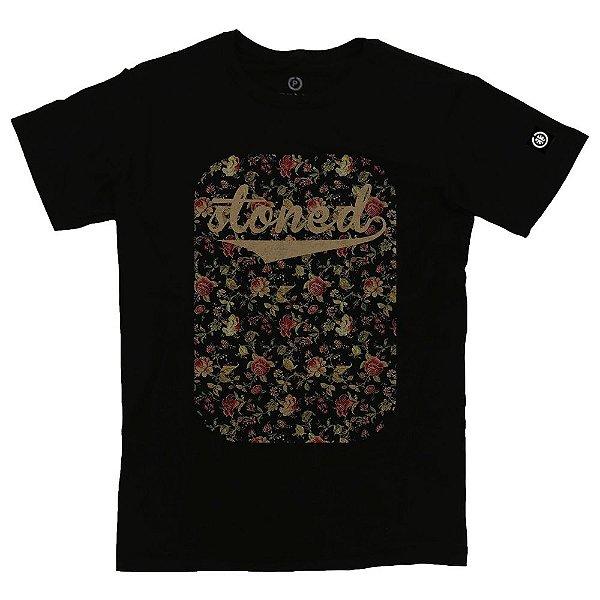 Camiseta Masculina Flowers
