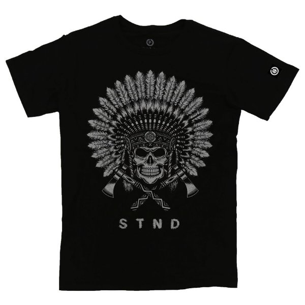 Camiseta Masculina Indian Skull