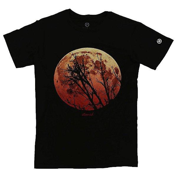 Camiseta Masculina Red Moon