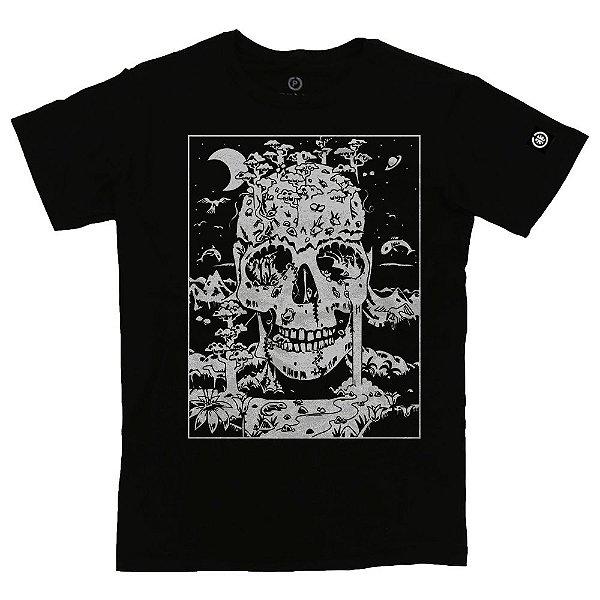 Camiseta Masculina Skull