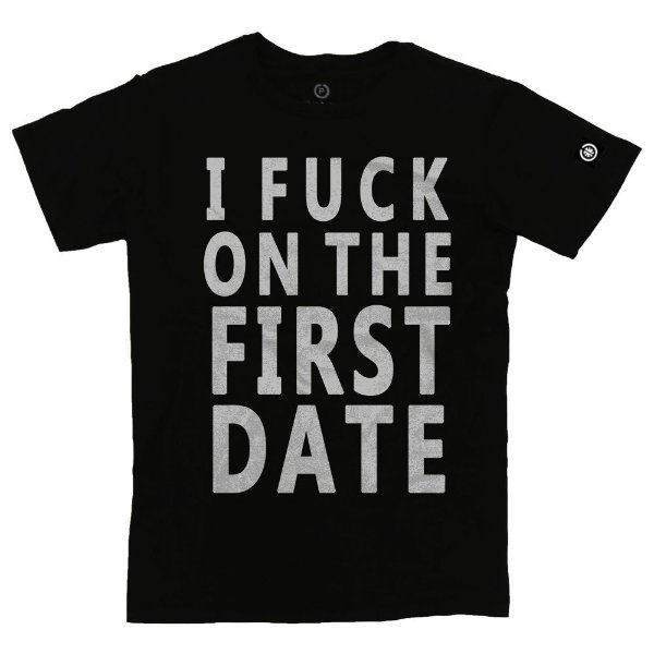 Camiseta Masculina I Fuck On The First Date