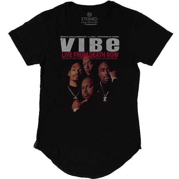 Camiseta Longline Vibe Magazine