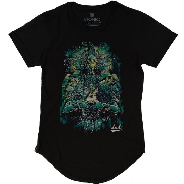 Camiseta Longline Honorable Warrior