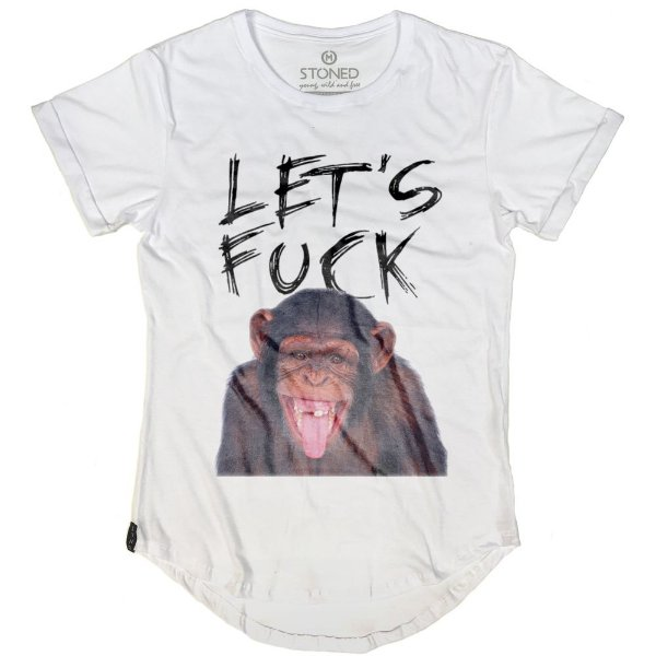 Camiseta Longline Let's Fuck