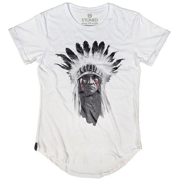 Camiseta Longline Indian Chief