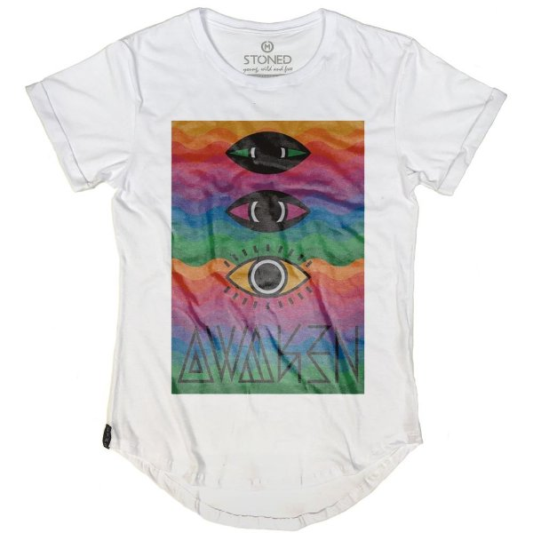 Camiseta Longline Awaken