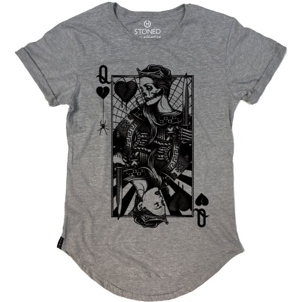 Camiseta Longline Sad Queen