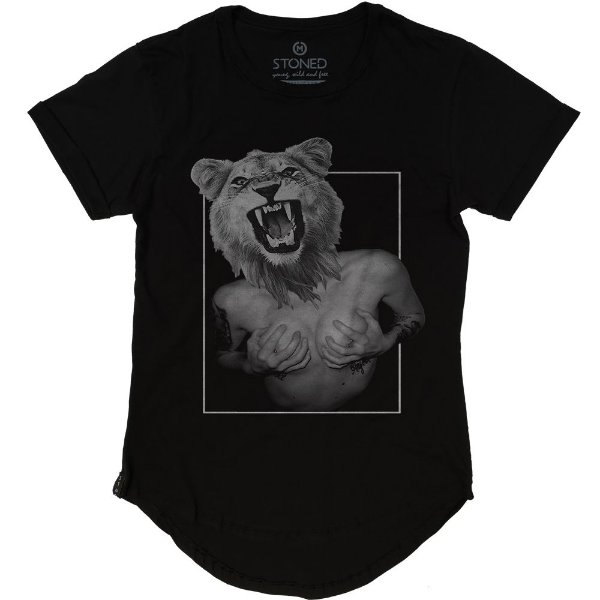 Camiseta Longline Lady Lion