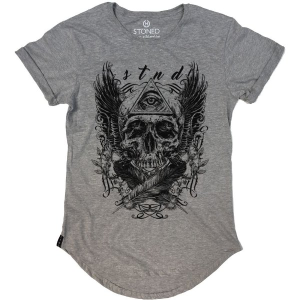 Camiseta Longline Third Eye