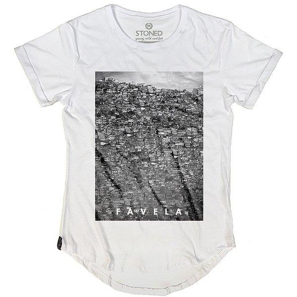 Camiseta Longline Favela