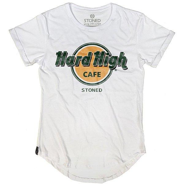 Camiseta Longline Hard High Café