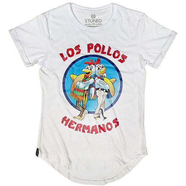 Camiseta Longline Los Pollos Hermanos