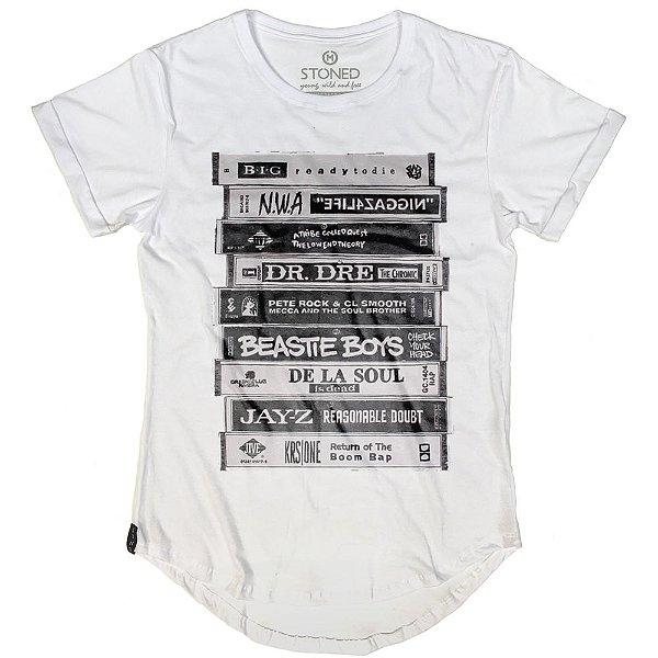 Camiseta Longline Greatest Rap