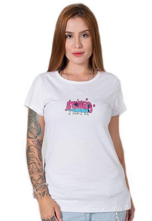 Camiseta Feminina 2 High 2 Die