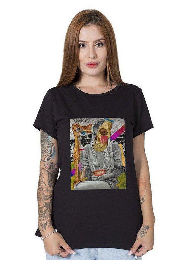 Camiseta Feminina Alucinação