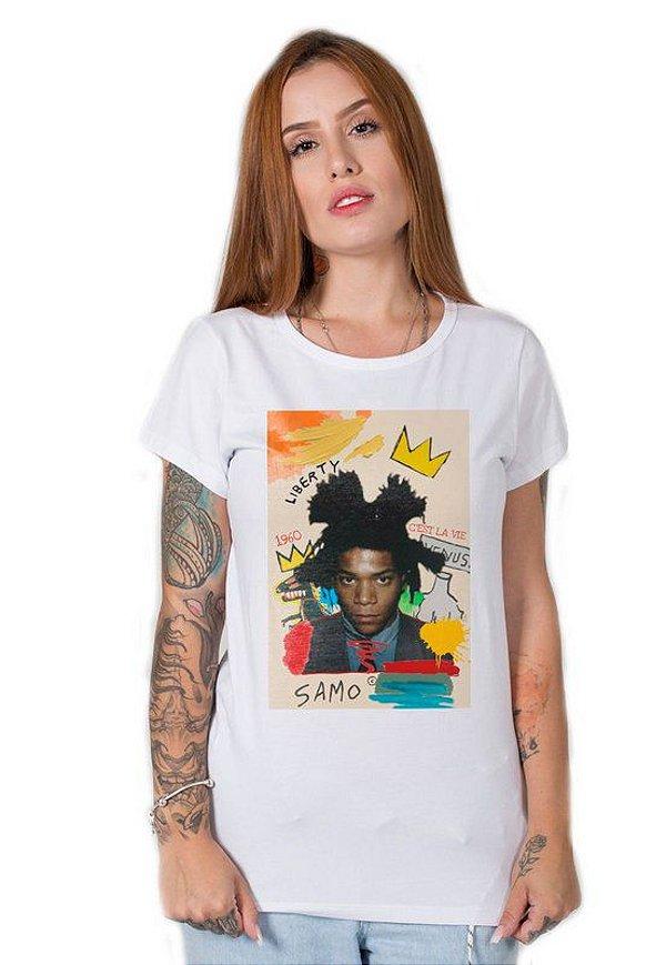 Camiseta Feminina Basquiat
