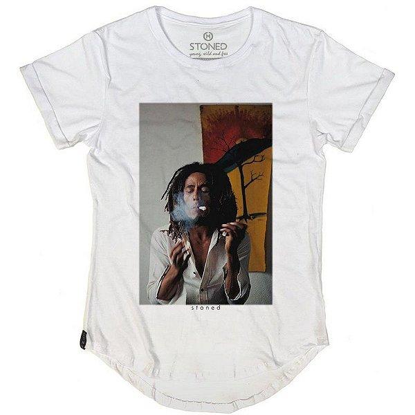 Camiseta Longline Bob Marley Two