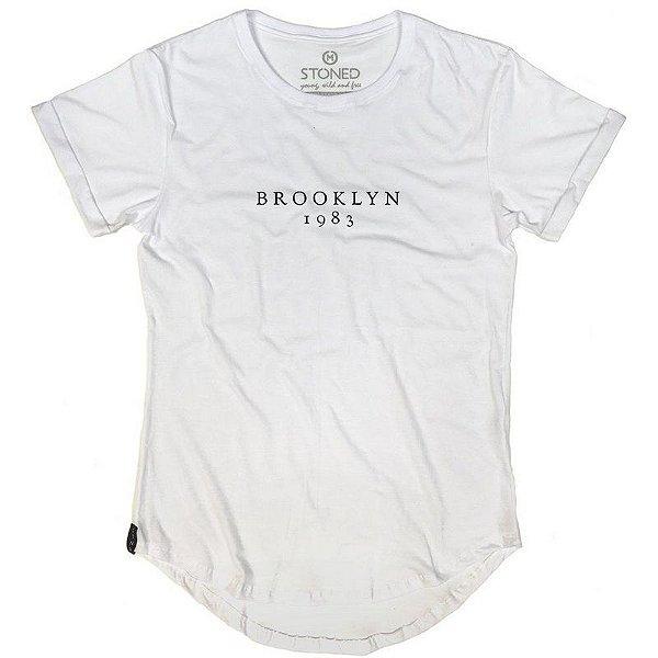 Camiseta Longline Brooklyn 1983