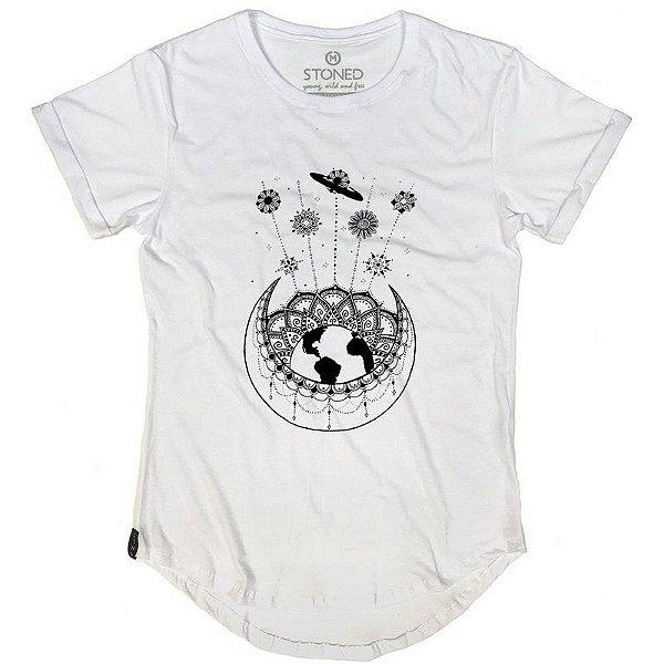 Camiseta Longline Cosmos