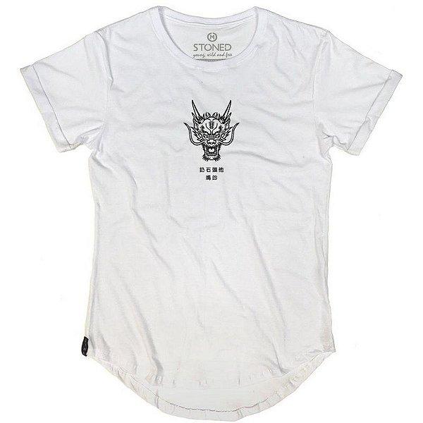 Camiseta Longline Dragon
