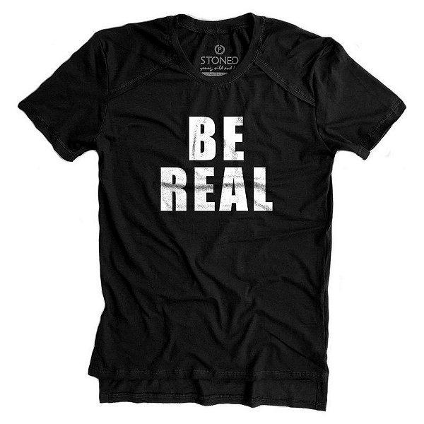 Camiseta Longline Gold Be Real