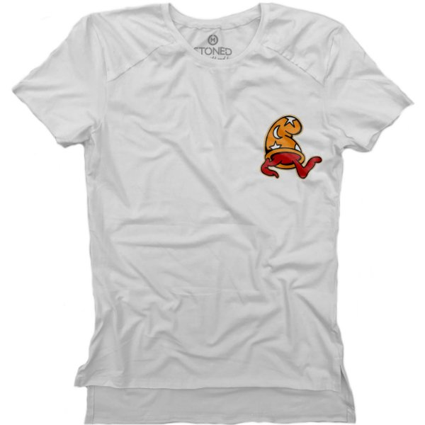 Camiseta Longline Gold Four Twenty Gnome
