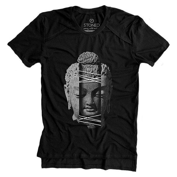 Camiseta Longline Gold Vertigo Buda