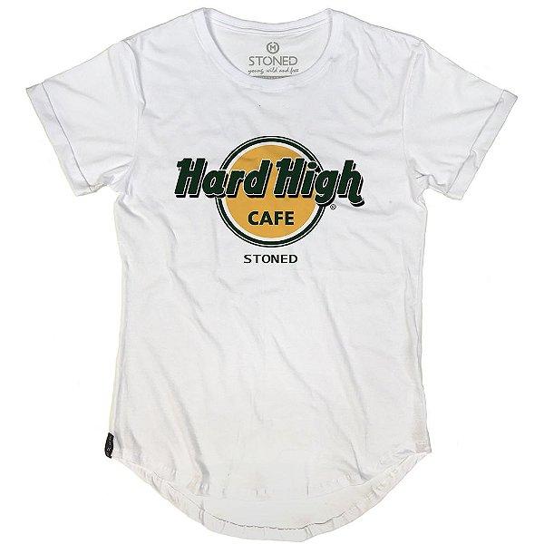 Camiseta Longline Hard High Cafe
