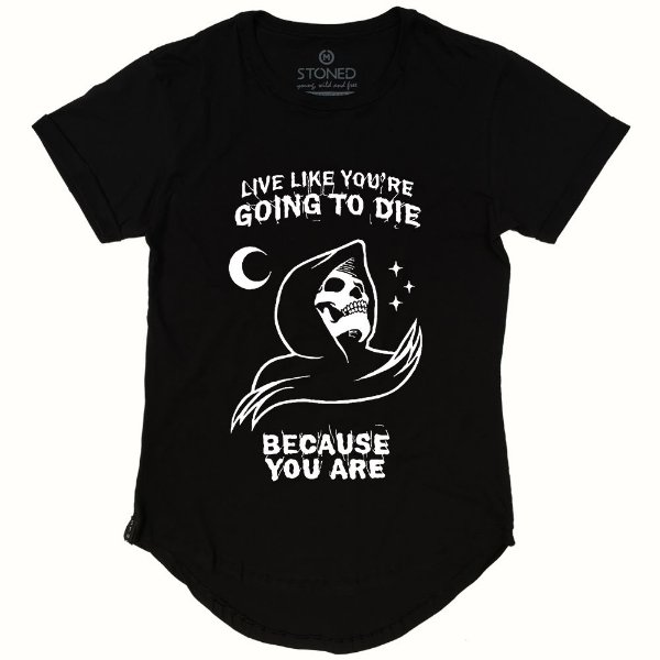 Camiseta Longline Live Like