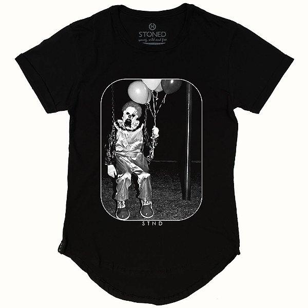 Camiseta Longline Mad Clown