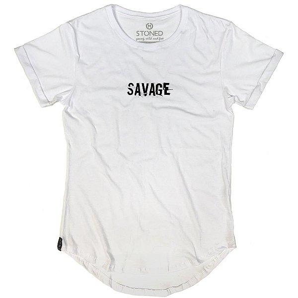 Camiseta Longline Savage