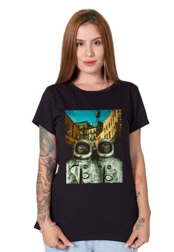 Camiseta Feminina From Space