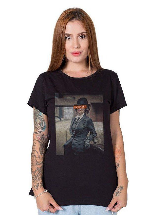 Camiseta Feminina Gray