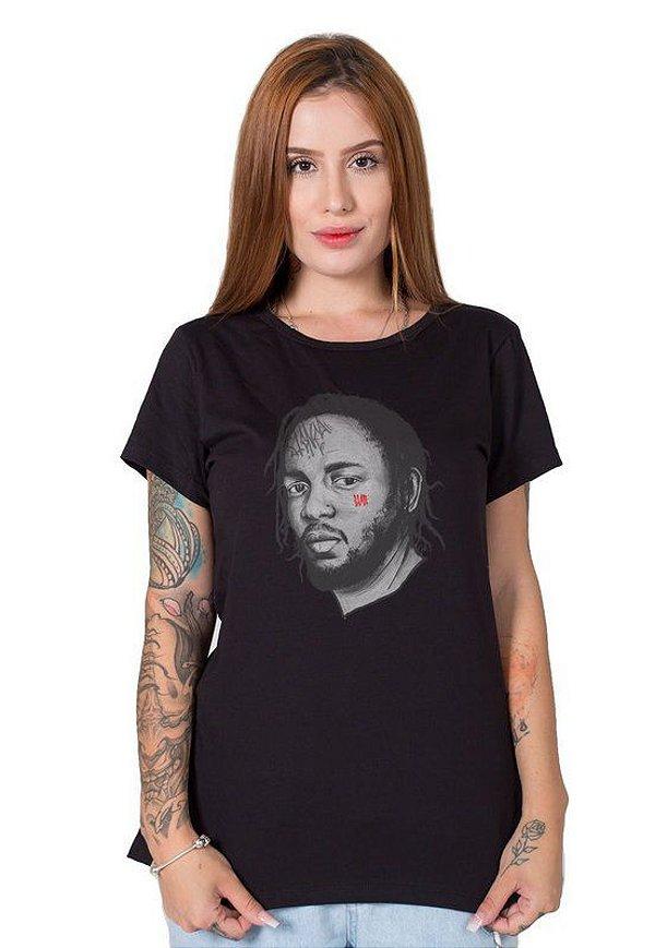 Camiseta Feminina Kendrick Lamar