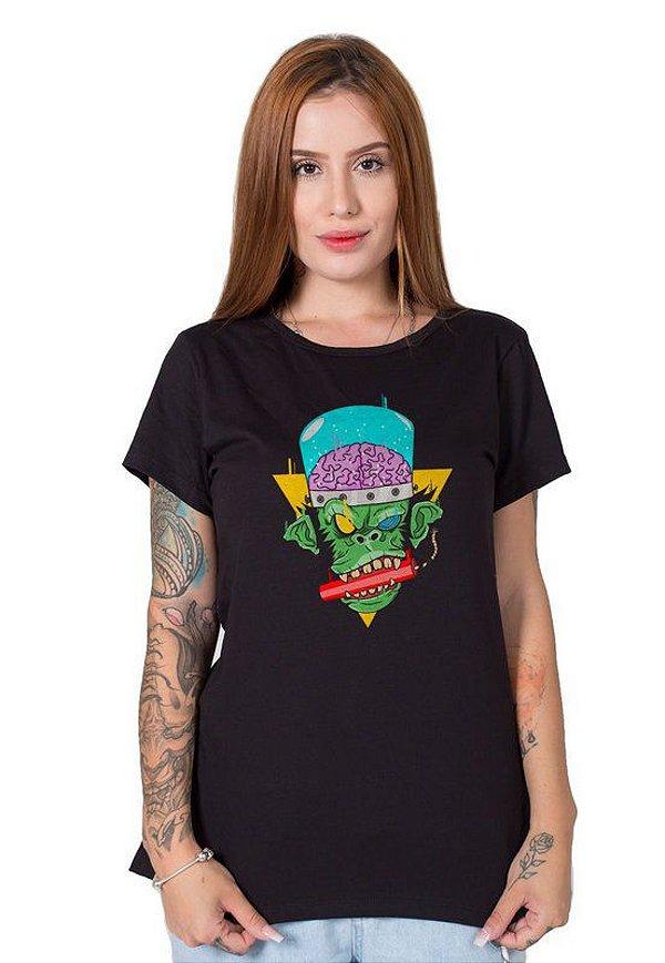 Camiseta Feminina Mad Monkey