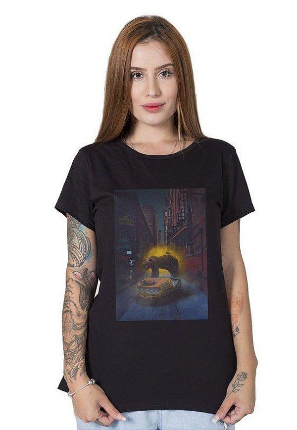 Camiseta Feminina Portal para Chernobyl
