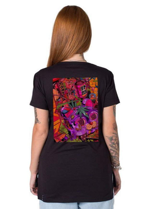 Camiseta Feminina Psyche Japan