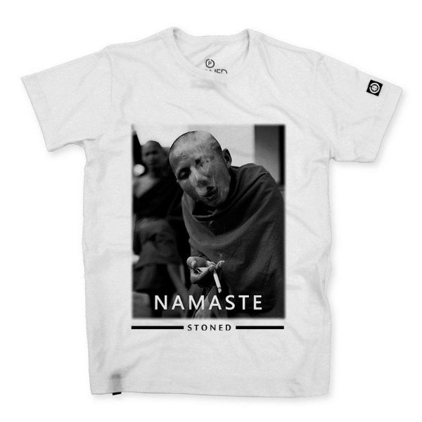 Camiseta Masculina Namaste