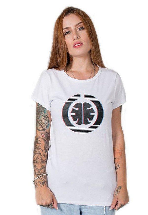 Camiseta Feminina Signature 3D