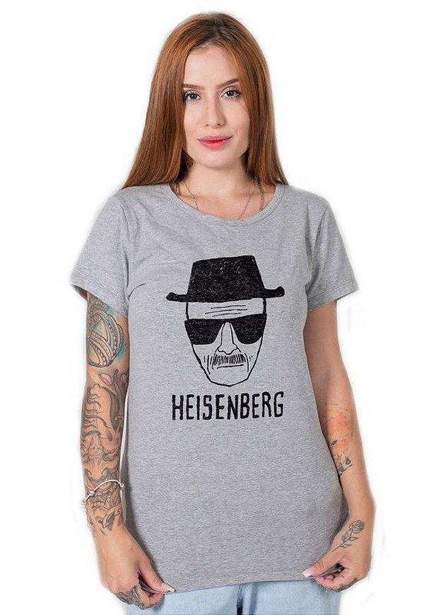 Camiseta Feminina Stoned Heisenberg