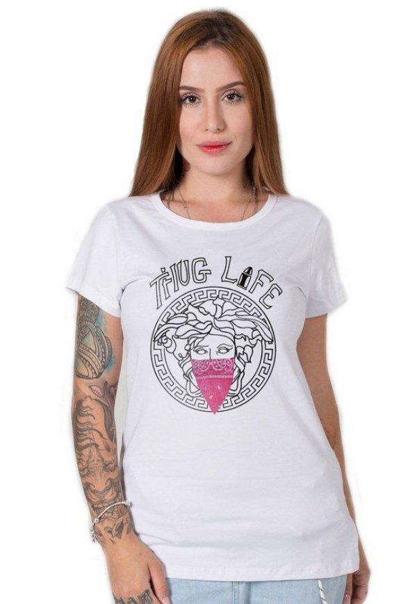 Camiseta Feminina Thug Life