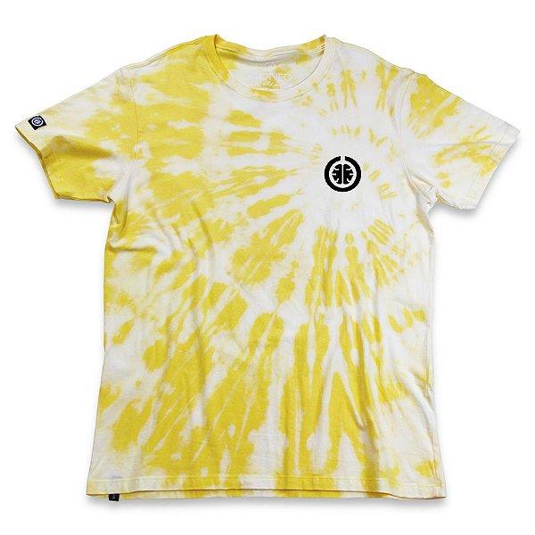 Camiseta Tie Dye Basic Amarela