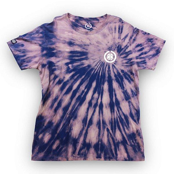 Camiseta Tie Dye Basic Azul