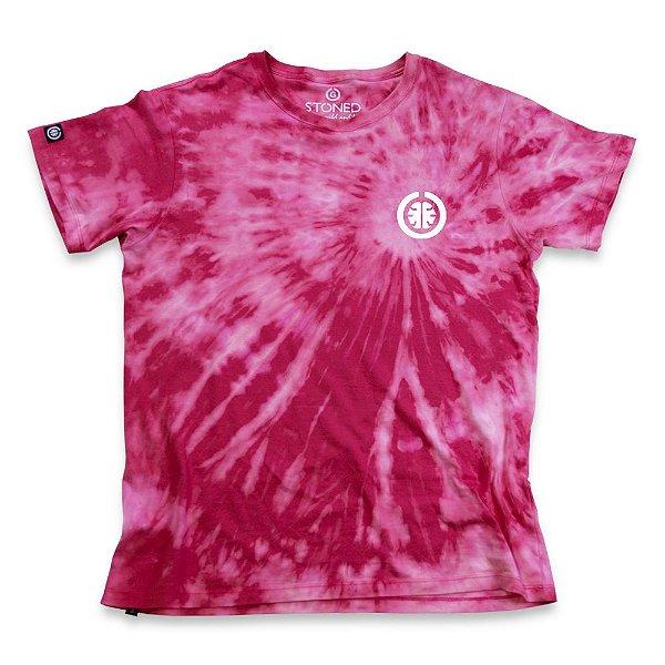 Camiseta Tie Dye Basic Rosa