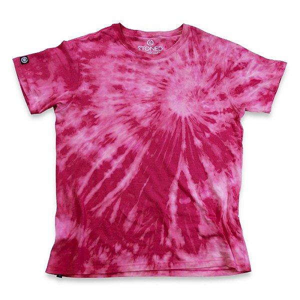 Camiseta Tie Dye Rosa