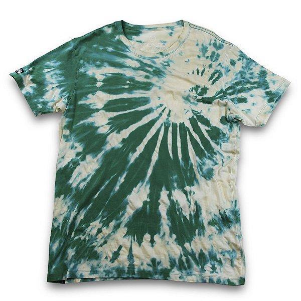Camiseta Tie Dye Verde